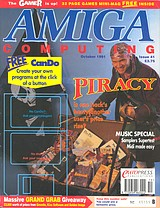 Amiga Computing 41 (Oct 1991) front cover