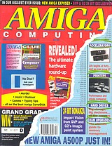 Amiga Computing 43 (Dec 1991) front cover