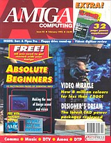 Amiga Computing 45 (Feb 1992) front cover