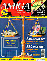 Amiga Computing 51 (Aug 1992) front cover