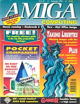 Amiga Computing 52 (Sep 1992) front cover