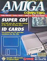 Amiga Computing 53 (Oct 1992) front cover