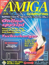 Amiga Computing 54 (Nov 1992) front cover