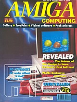 Amiga Computing 55 (Dec 1992) front cover
