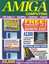 Amiga Computing 56 (Jan 1993) front cover