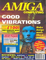 Amiga Computing 62 (Jul 1993) front cover