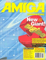 Amiga Computing 75 (Jul 1994) front cover