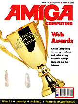 Amiga Computing 116 (Sep 1997) front cover