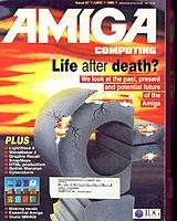 Amiga Computing US Edition 1 (Jun 1995) front cover