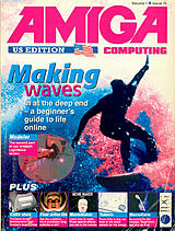 Amiga Computing US Edition Vol 1 No 10 (May 1996) front cover