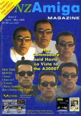 NZ Amiga Magazine 2 (Apr - May 1993) front cover