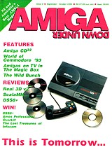 Amiga Down Under 4 (Sep - Oct 1993) front cover