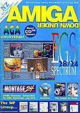 Amiga Down Under 6 (Jan - Feb 1994) front cover