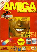 Amiga Down Under 7 (Mar 1994) front cover