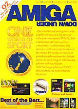 Amiga Down Under 8 (Apr 1994) front cover