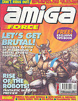 Amiga Force 12 (Dec 1993) front cover