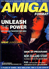 Amiga Format 1 (Aug 1989) front cover