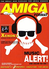 Amiga Format 3 (Oct 1989) front cover