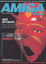Amiga Format 5 (Dec 1989) front cover