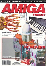 Amiga Format 7 (Feb 1990) front cover