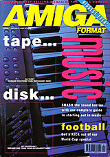 Amiga Format 12 (Jul 1990) front cover