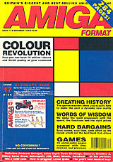 Amiga Format 17 (Dec 1990) front cover