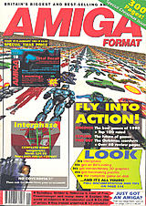 Amiga Format 18 (Jan 1991) front cover