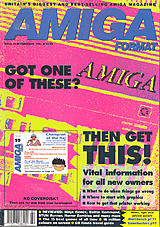 Amiga Format 19 (Feb 1991) front cover