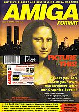 Amiga Format 21 (Apr 1991) front cover