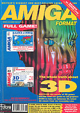 Amiga Format 23 (Jun 1991) front cover