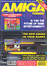 Amiga Format 24 (Jul 1991) front cover
