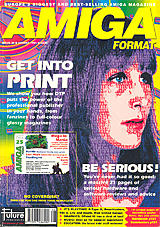 Amiga Format 25 (Aug 1991) front cover