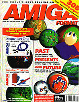 Amiga Format 30 (Jan 1992) front cover