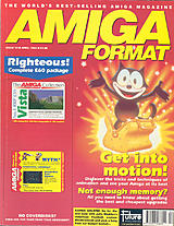 Amiga Format 33 (Apr 1992) front cover
