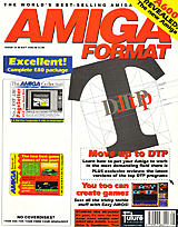 Amiga Format 34 (May 1992) front cover
