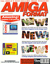 Amiga Format 36 (Jul 1992) front cover