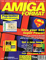 Amiga Format 38 (Sep 1992) front cover