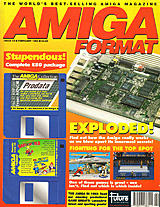 Amiga Format 43 (Feb 1993) front cover