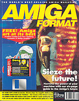 Amiga Format 45 (Apr 1993) front cover
