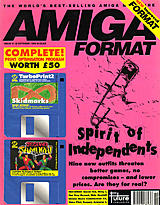 Amiga Format 51 (Oct 1993) front cover
