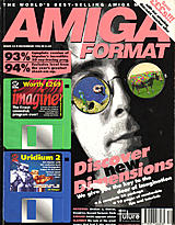 Amiga Format 53 (Dec 1993) front cover