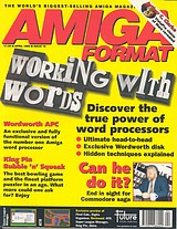 Amiga Format 70 (Apr 1995) front cover