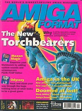 Amiga Format 75 (Sep 1995) front cover