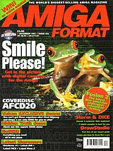 Amiga Format 104 (Dec 1997) front cover