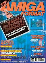 Amiga Format 107 (Feb 1998) front cover