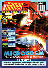 Amiga Games (Apr 1994) front cover