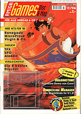 Amiga Games (Nov 1994) front cover