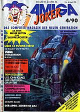 Amiga Joker (Apr 1990) front cover