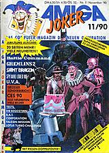 Amiga Joker (Nov 1990) front cover