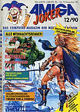 Amiga Joker (Dec 1990) front cover